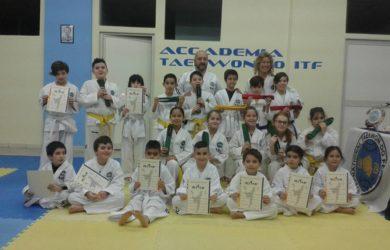 accademia taekwon-do monserrato esami 07.02.2017