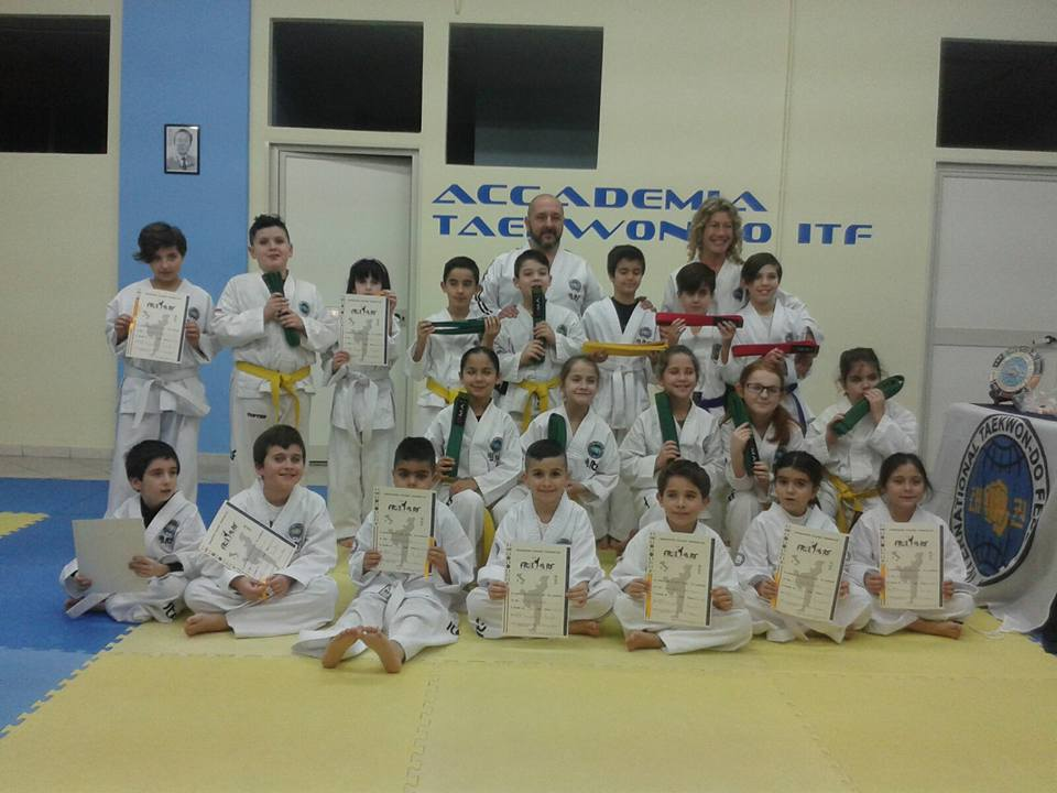 accademia taekwon-do monserrato esami 07.02.2017