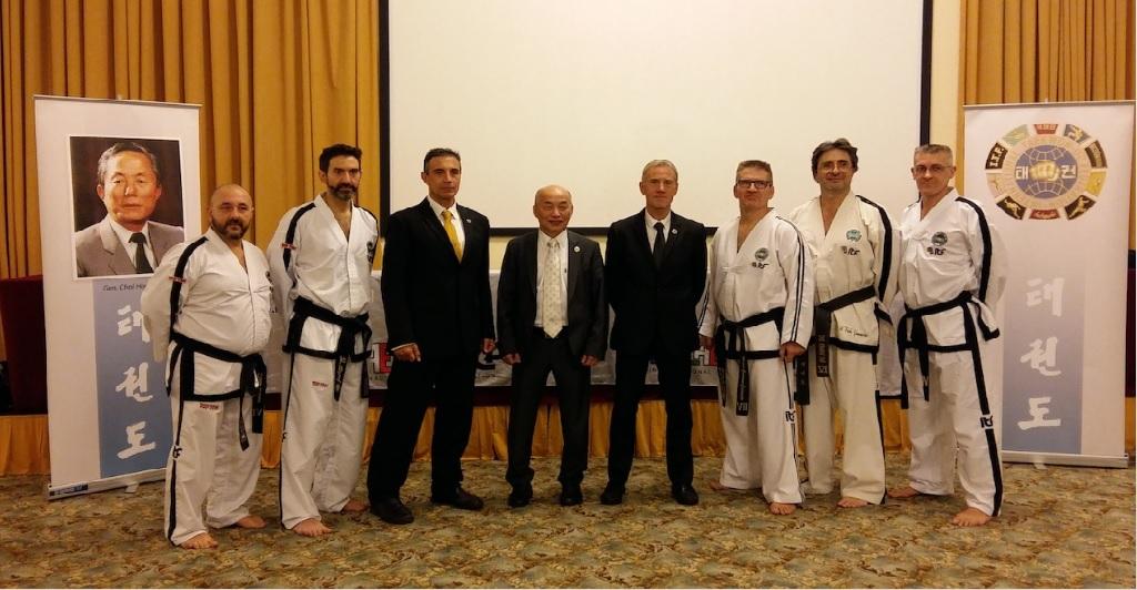 accademia taekwon-do itf monserrato fitae-itf master dino denei