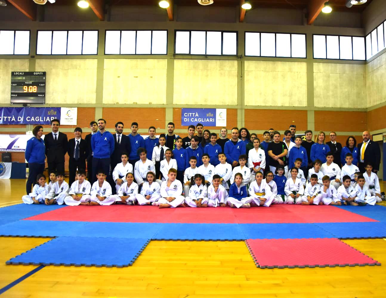 accademia taekwon.do itf campioanto sardo 2019